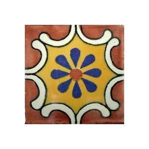 Tile   40 4x4 Hand Painted Tiles   anita blue