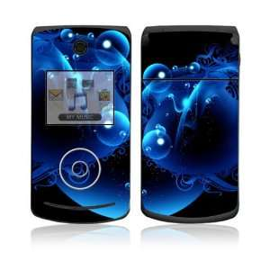 LG Chocolate 3 (VX8560) Skin Decal Sticker   Blue Potion