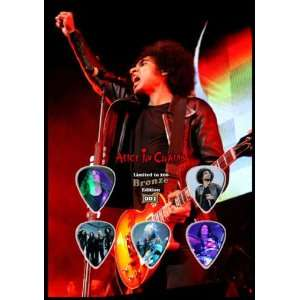 Bronze Edition Guitar Pick Display With 5 Guitar Picks. Electronics