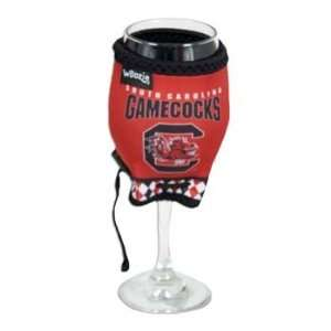 of South Carolina Gamecocks Wine Glass Coozie