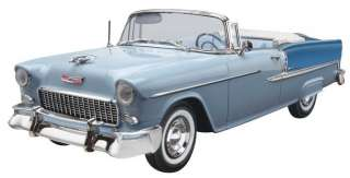 NEW Monogram 1/25 55 Chevy Bel Air Convertible 854269 031445042690