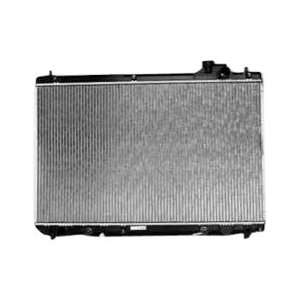 TYC 2452 Toyota Highlander 1 Row Plastic Aluminum Replacement Radiator