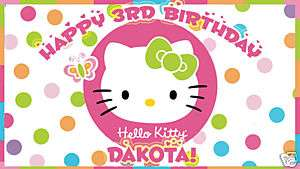 SHEET HELLO KITTY Edible CAKE Image Icing Topper