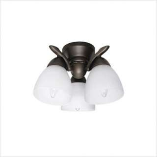 Hunter Fans Three Light Ceiling Fan Light Kit in New Bronze 28603