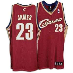 Adidas Cleveland Cavaliers LeBron James Authentic Jersey