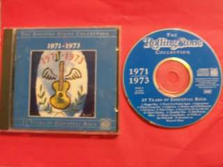 The Rolling Stone Collection CD 1971 1973 Time Life
