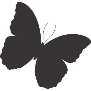 Butterfly wall decal big sticker removable large