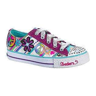 Girls Twinkle Toes Groovy Baby   Multi  Skechers Shoes Kids Girls