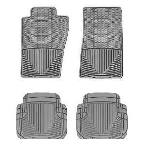 2007 2011 Jeep Wrangler Grey WeatherTech Floor Mat (Full