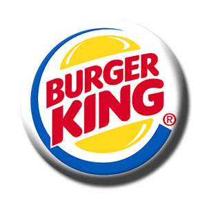 BURGER KING BK   Souvenir Collectibles Fridge Magnet