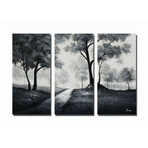 Walk in the Park Hand Painted Canvas Art Oil Painting