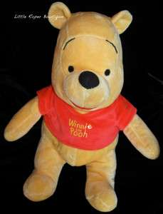 Winnie The Pooh Plush Disney Kohls Care For Kid Stuffed Bear Baby Toy