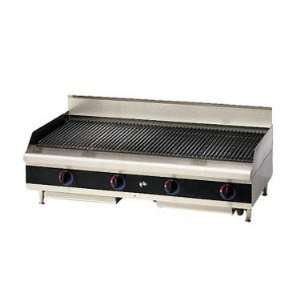 Star Star Max Gas Countertop Charbroiler, 48L, cast iron