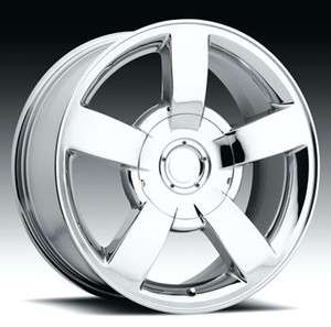 22 INCH CHEVY SILVERADO 1500 SS FACTORY REPRODUCTION REPLICA WHEELS
