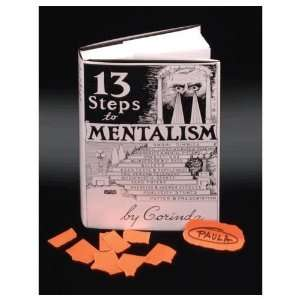 13 Steps To Mentalism Book By Corinda Toys & Games