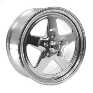Summit Racing 521 7765PS Wheel, Fast Five, Aluminum, Polished, 17 in