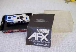 MIXED LOT  AURORA AFX ROAD RACING HO SLOT CAR SET