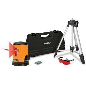 Johnson Self Leveling Cross Line Laser Level Kit 40 0921 at The Home