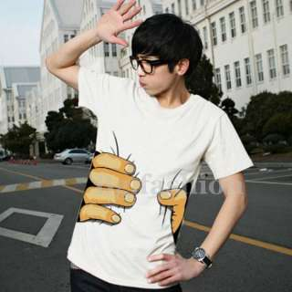 2012 New Originality Mens Unisex Cotton Hand Printed Short Sleeve T