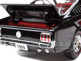 1966 FORD MUSTANG GT FASTBACK 2+2 289 RAVEN BLACK 124