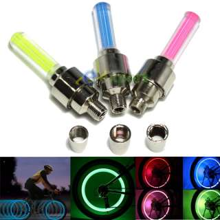 10 Super Bright LED Fireflys Lights Bike Bicycle Moto Car Wheel Valve