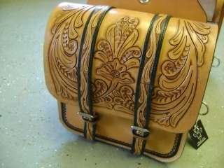 HAND CRAFTED MAD COW FULLY TOOLED LEATHER WESTERN HORSE COWBOY SADDLE