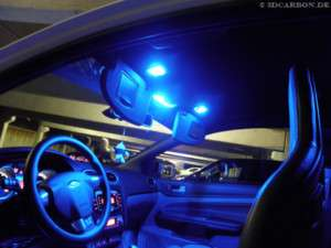 SMD LED Innenraumbeleuchtung Blau Seat Leon 1M