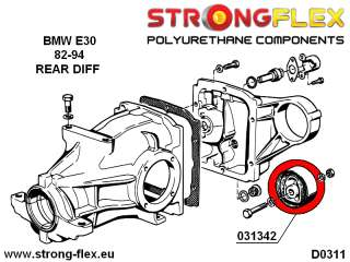 BMW E30 M3 Full Suspension Bush KIT, SPORT polyurethane
