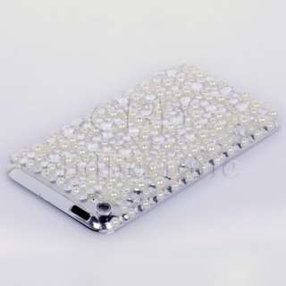 RHINESTONE CRYSTAL CASE ETUI iPOD TOUCH 4 4TH GEN 4G