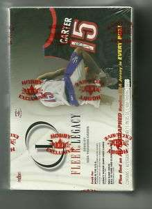 2000 01 Fleer Legacy Basketball Hobby box (AUTO JERSEY)