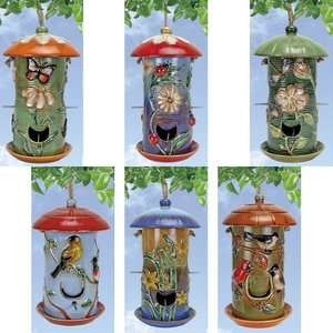 Nature Garden BIRD FEEDER Your Choice 6 STYLES Butterfly Bug Dragonfly