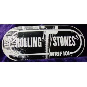 WRIF Radio, The Rolling Stones Sticky Fingers Bumper