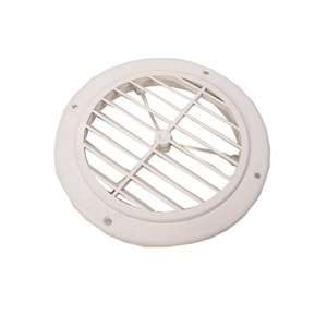 Grill Colonial Air Conditioning Vent Polar White Damper Automotive