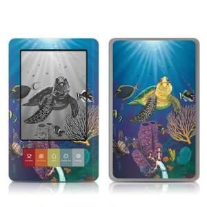 Reef Design Protective Decal Skin Sticker for Barnes and Noble NOOK