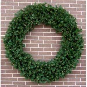 60 inch Norway Pine Prelit Artificial Large Christmas Wreaths [123382