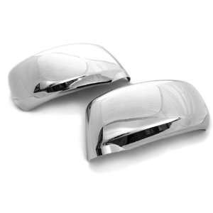 Chrome Side Door Mirror Cover Trims Moulding for 05 10 Nissan Versa