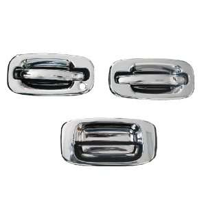 Silverado Chrome Door Handles Tailgate Covers 1999 2006 passenger side