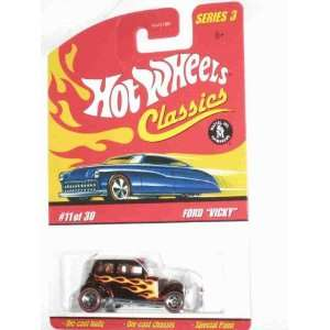 Brown 5 Spoke Redlines Collectible Collector Car Mattel Hot Wheels