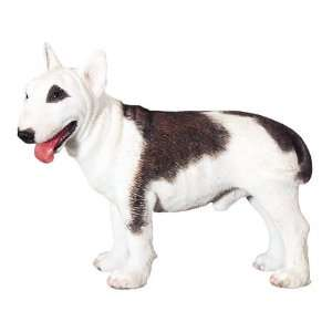 Bull Terrier Dog   Collectible Figurine Statue Figure