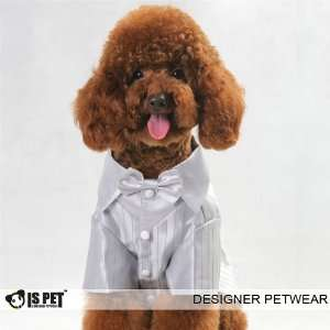Is Pet Designer Dog Apparel   Farrell Tuxedo with Bow Tie
