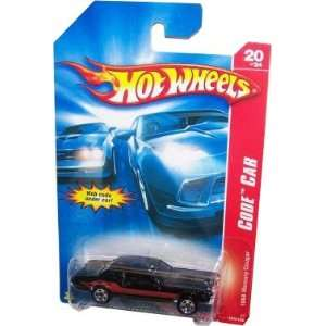 Hot   Wheels 164 Diecast car CODE CAR BLACK 1968 MERCURY COUGAR 20