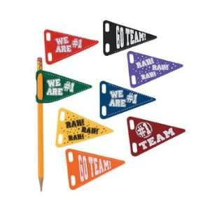 Pencil Pennant Assortment   Basic School Supplies & Erasers & Pencil