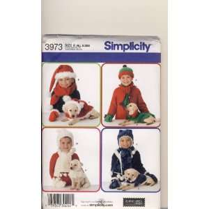 Simplicity Sewing Pattern 3973   Use to Make   Fleece Winter Items for