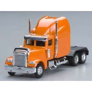 Model Power   1/87 Freightliner Semi Truck Cab Orange HO