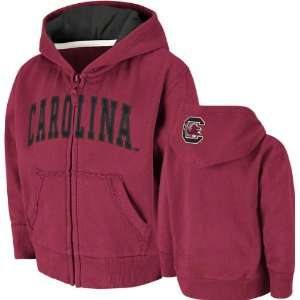 Carolina Gamecocks Toddler Cardinal Arcade Full Zip Hooded Sweatshirt