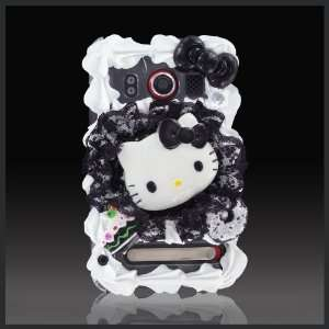 Treats by CellXpressionsTM Hello Kitty Black Lace Bling Ice Cream cake
