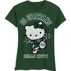 Spartans Hello Kitty Pom Pom Girls Crew Tee Shirt