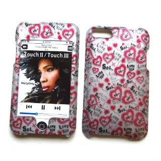 Pink with Diamond Rhinestone Bling Soft Silicone Skin Apple Ipod Touch