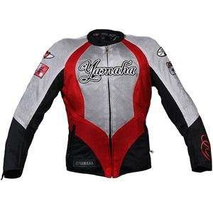 Joe Rocket Womens Yamaha Luv Mesh Jacket   X Small/Red