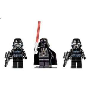 LEGO Star Wars LOOSE Mini Figure Darth Vader with Silver